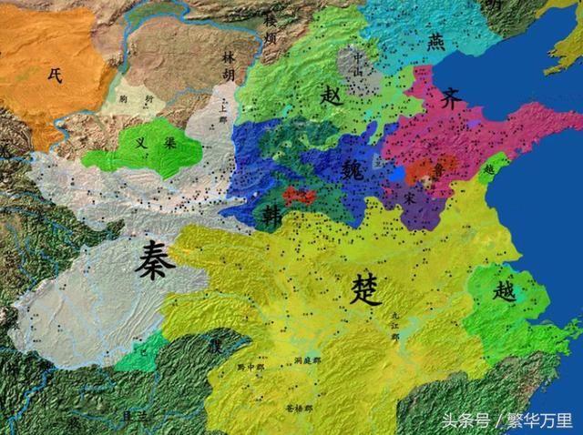 楚国地图全图高清版