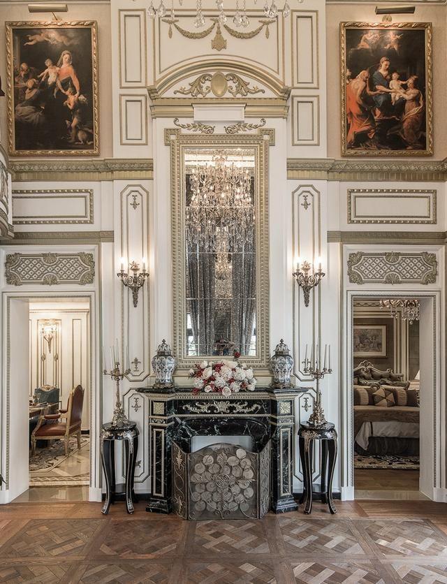 室内设计案例丨大师素材宫廷别墅高端设计机构设计学风格图片