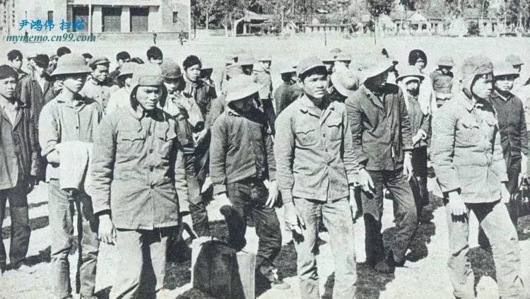1979年中越战争烈士_老照片:39年前中越边境战争全过程