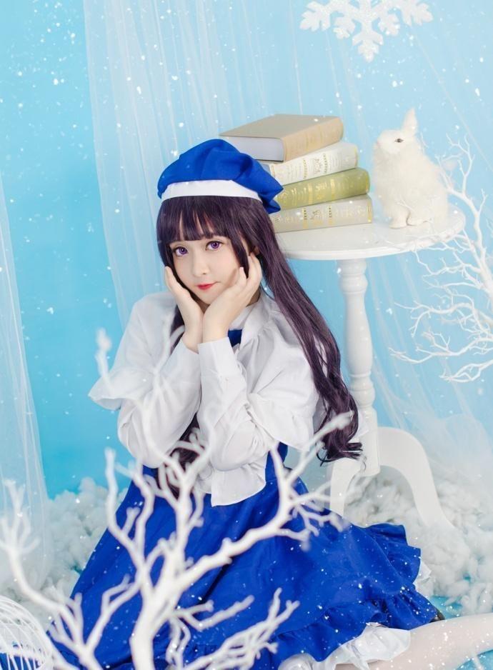 可爱小仙女白色丝袜展现清澈纯真的美插图(3)