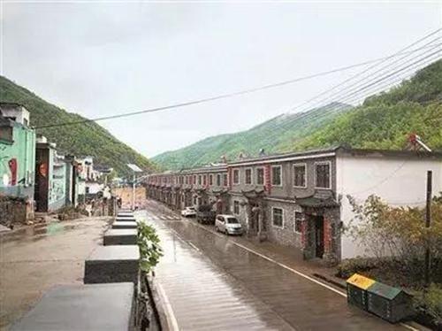 伏牛山写生基地 嵩县手绘小镇自然和村落的完美结合
