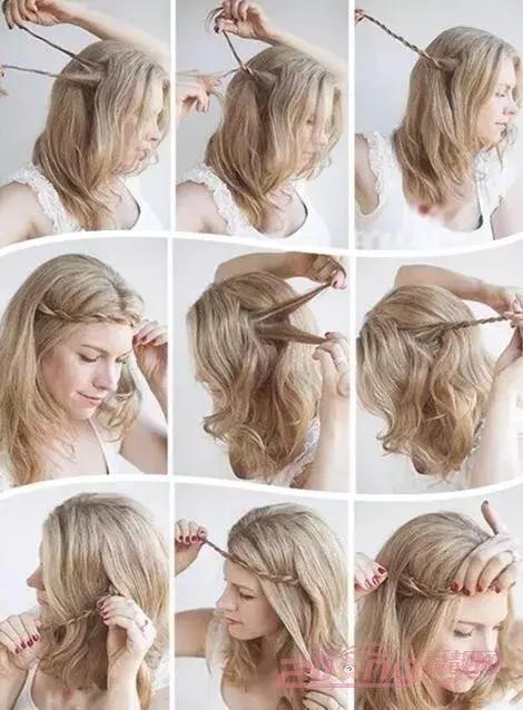 它比麻花辫编发更时髦,成为冬天最美的编发!