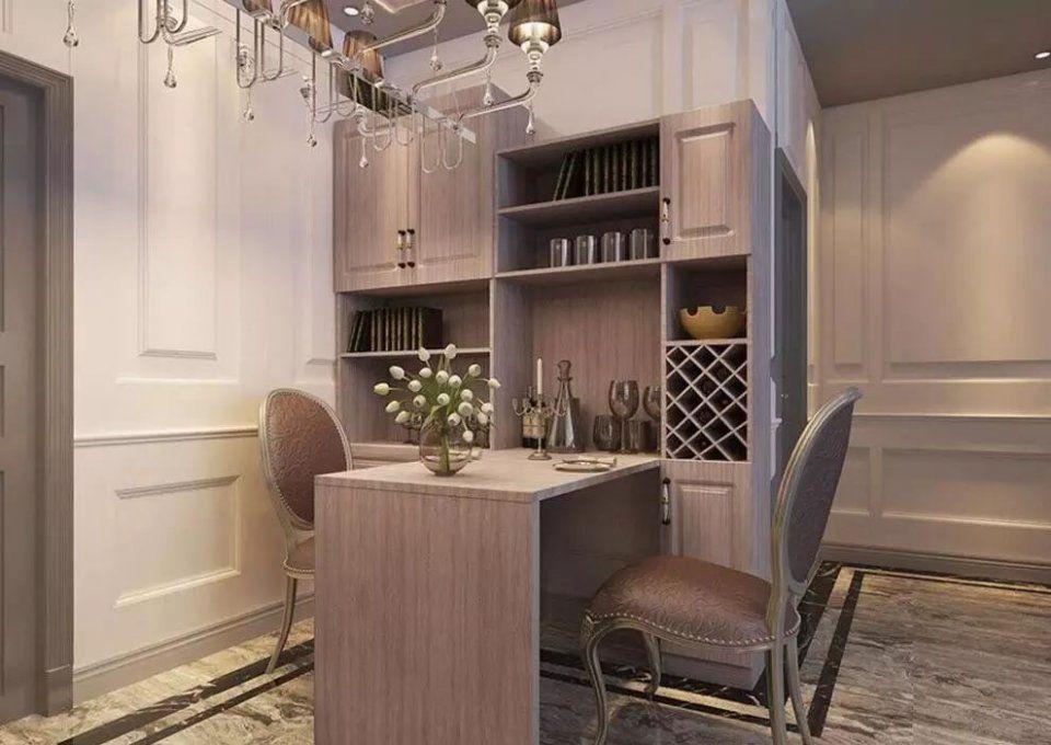 餐厅装修效果图大全,家里餐厅这样装修实用还不贵!