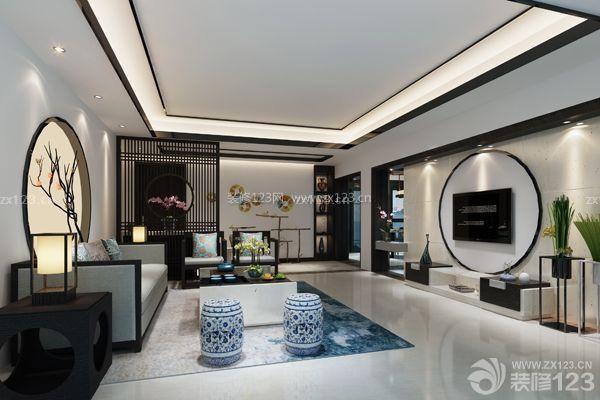新中式风格摈弃了传统中式风格繁杂而沉稳的设计理念,对中国传统文化