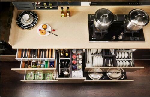 欧派橱柜功能厨房 人性化设计暗藏爱意