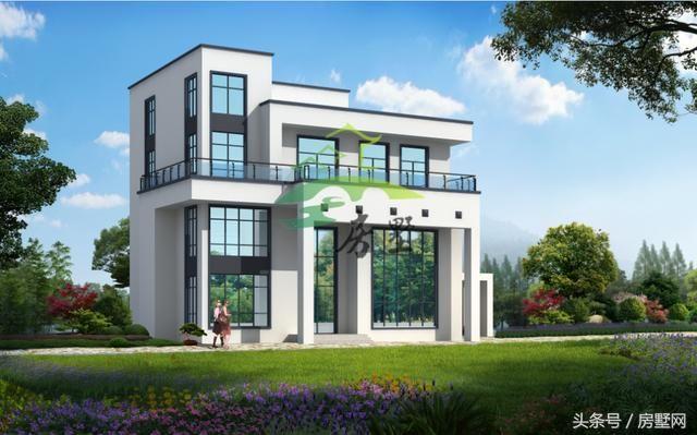 别墅设计:6套现代化设计,附带平面图,建房?帮你省钱省