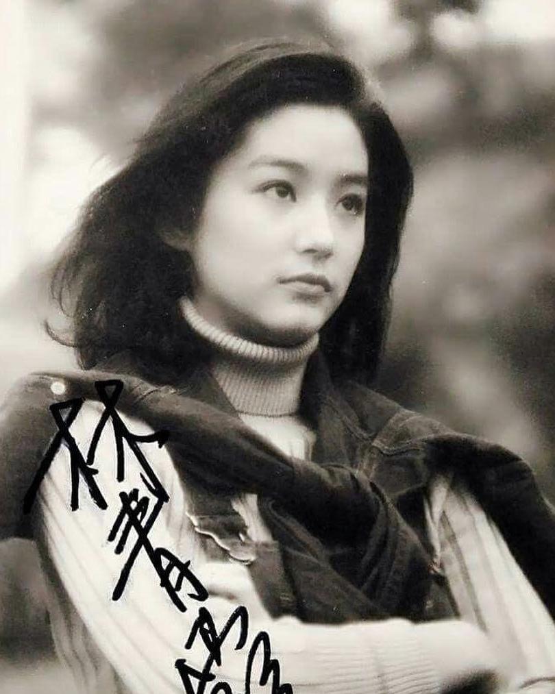香港80集锦最美的美女之一林青霞旧照女星年代印度臀图片