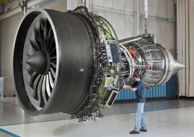 """组成的""""发动机联盟""""联合研制生产的高涵道比双转子轴流式涡扇发动机.图片"""
