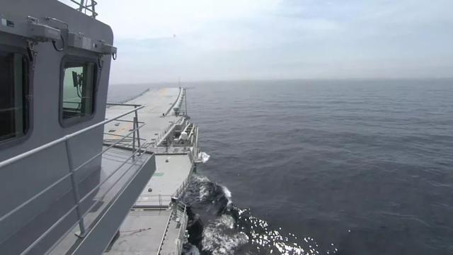 大饱眼福!央视首度公开首艘国产航母的内部细节
