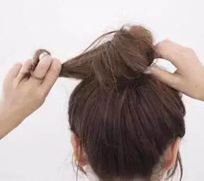 长发怎么扎丸子头?夏天长发这么弄真心好看!
