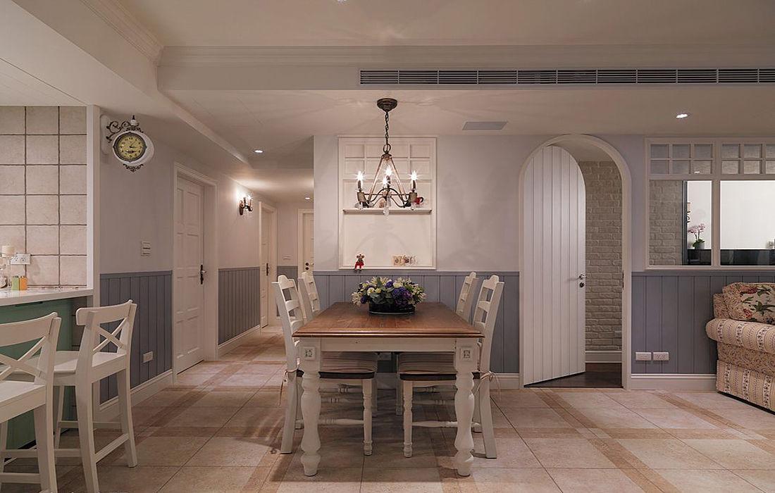 田园风格三居室的房子怎么装修好看?装修达人给你示范