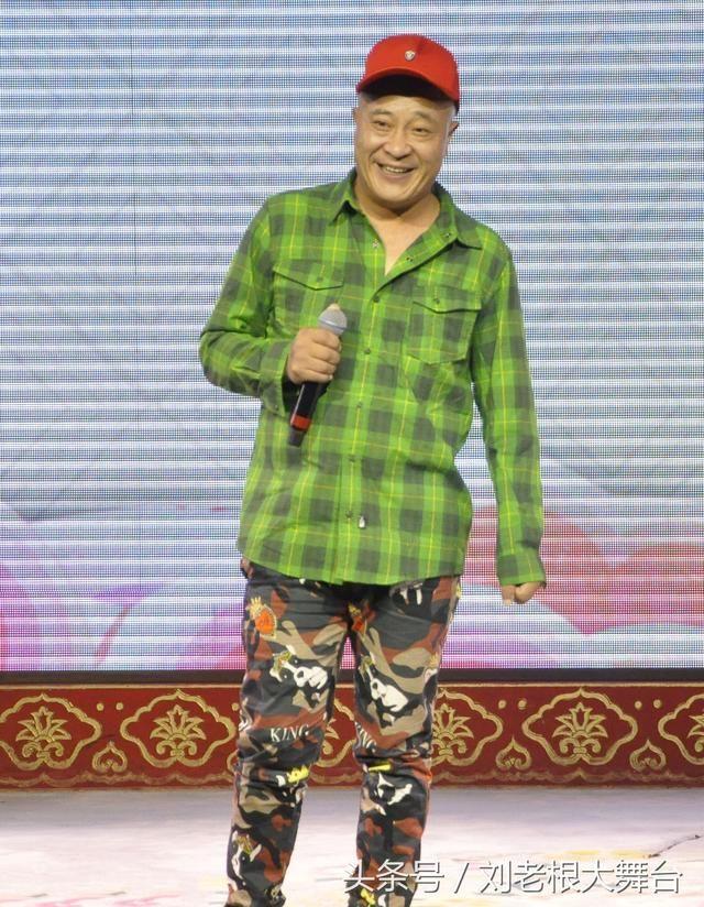 喜剧大咖赵四在北京前门刘老根大舞台逗图片