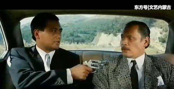 《江湖情》中林聪先生与周润发图片
