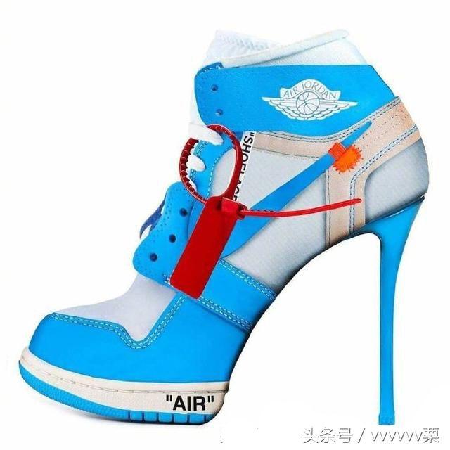 当运动风遇上高跟鞋会是怎样的奇葩视觉感呢?你们会喜欢这双鞋子吗?