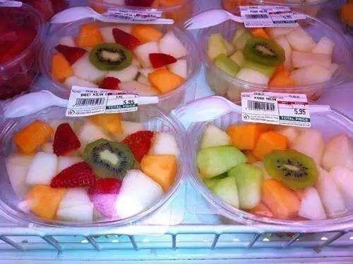 水果拼盘竟然是细菌的温床?夏季到了,水果可以这样吃!图片