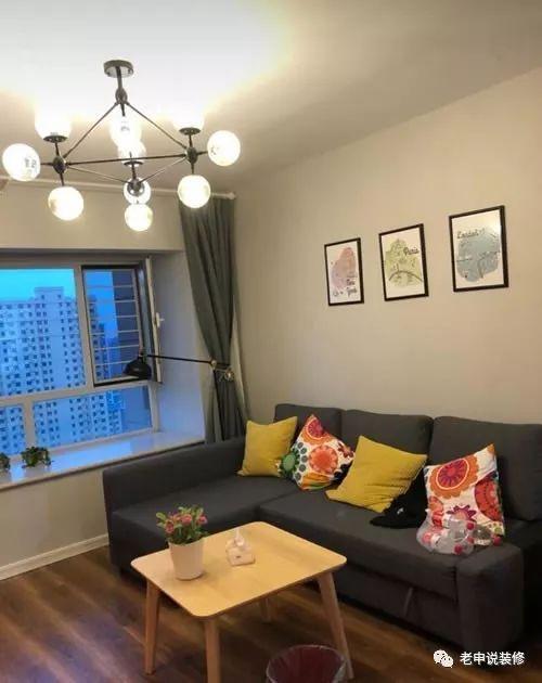 80平两居室小户型,风格简约干练,温馨不奢华