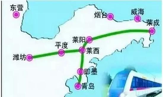 青岛潍莱铁路征地拆迁启动!济青高铁明年通车