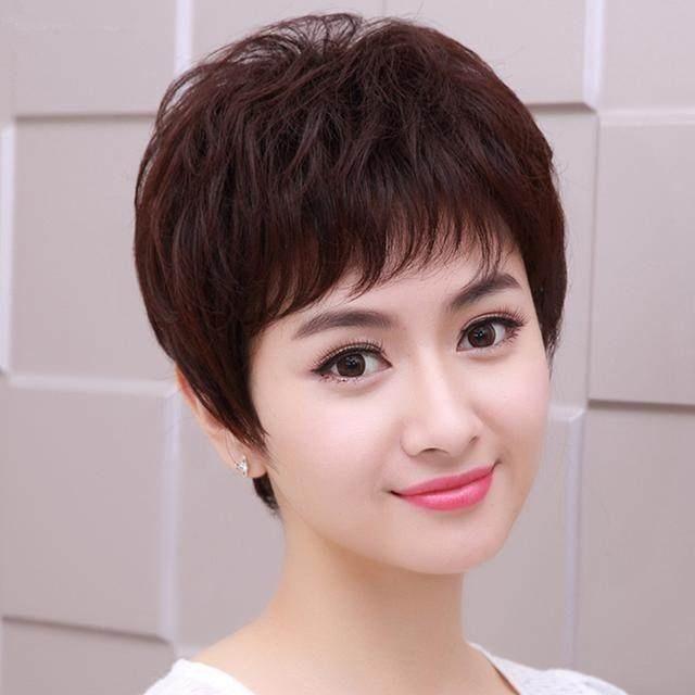 中年女性发型,款款流行,换个发型过新年!图片