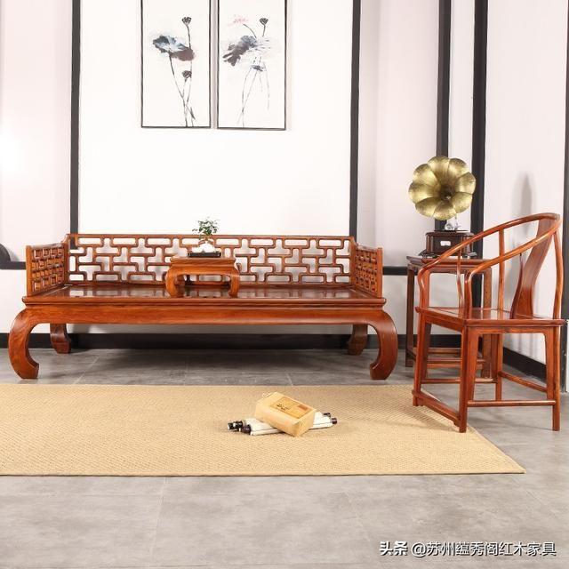 你传世红木家具知道更久?可保存的红木峰家具融网店图片