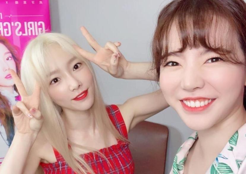原创            Sunny公开与泰妍合照,和队友一起的泰妍笑很甜,友情能治愈人心