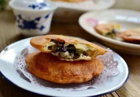 南通十大特色美食之海门蛎蚜饼