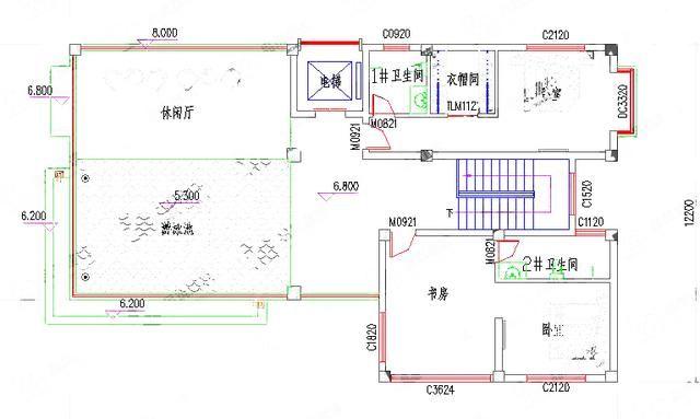 造价50万带电梯 游泳池三层别墅设计图