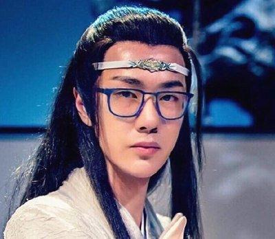 《陈情令》全员戴眼镜:蓝忘机斯文,魏婴可爱,鬼将军是认真的吗