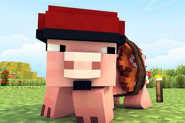 游戏 正文  一,僵尸猪人骑士 猪是《我的世界》中一种比较常见的怪物