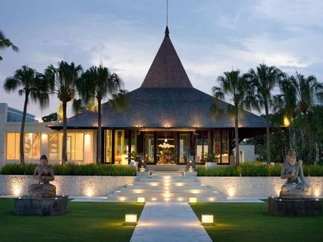 巴厘岛成为了明星婚礼的热门地,揭秘颖儿,付辛博婚礼酒店