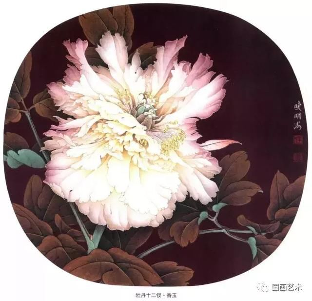 李晓明老师的牡丹十二钗,太美啦!