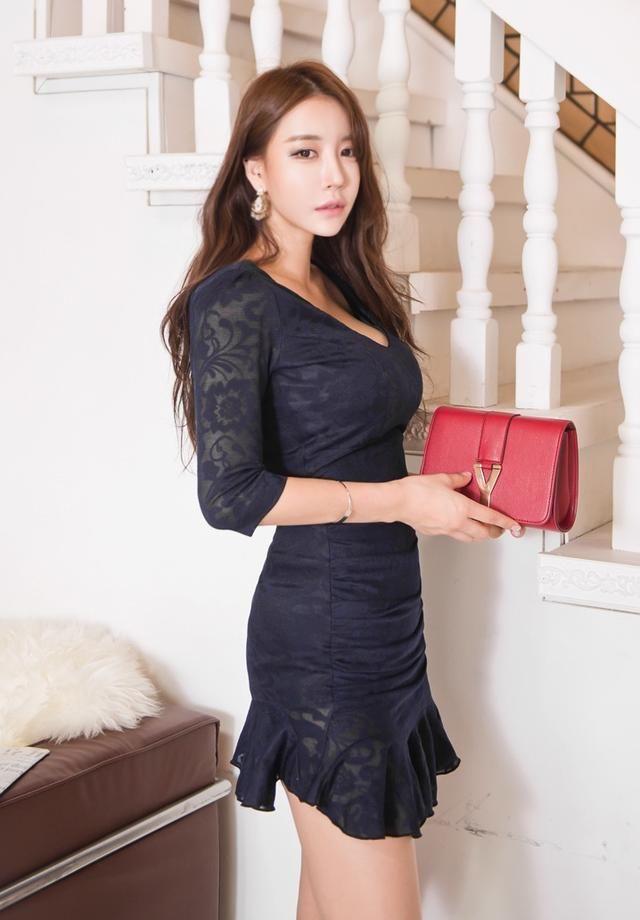 富贵时尚成熟美女,大方优雅!
