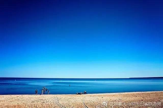 加拿大的淡水海滩格兰德海滩 曾被《花花公子》评为最棒
