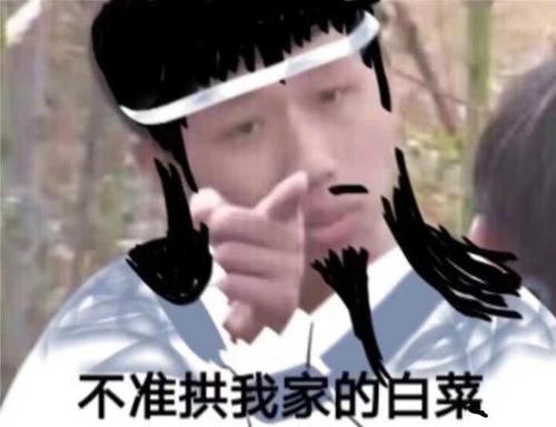 魔道表情:《变形记》王境泽变身魔道祖师,魏撤表情嘴图片包的图片