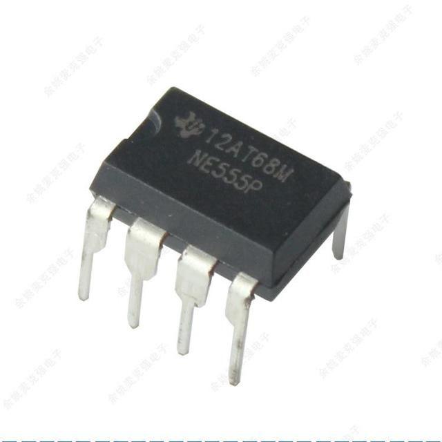 定时器等应用,555集成电路芯片外观如图所示: 芯片引脚的识别 将有