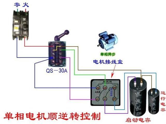 电工必备|最齐全电路开关回路 断路器电机接线图 非常