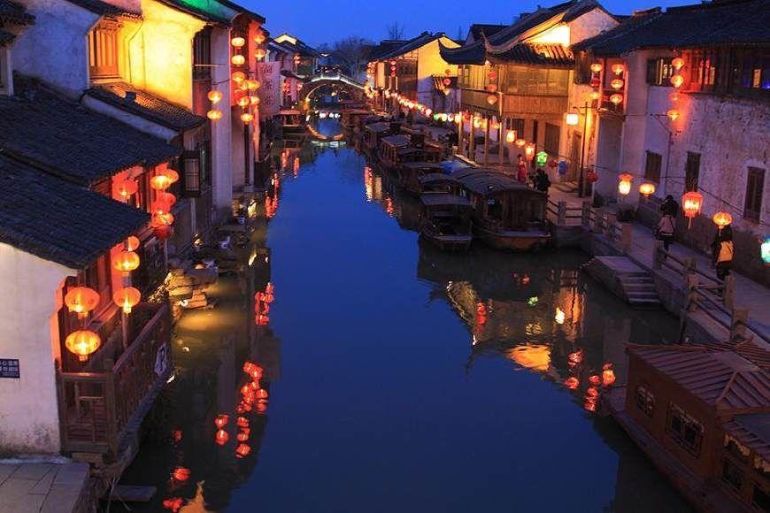 苏州山塘街图片