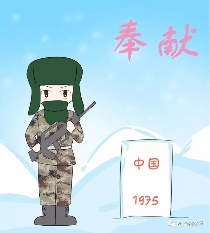 當兵主題漫畫頭像