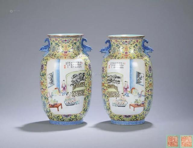 """""""历史故事""""纹饰民国瓷器鉴赏"""