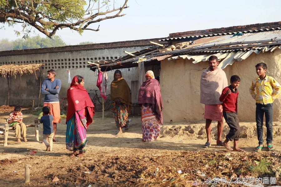 看镜头:印度农村真实现状随拍,生活水平普遍低
