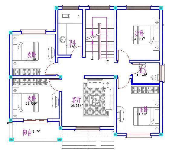 乡下厨房设计平面图