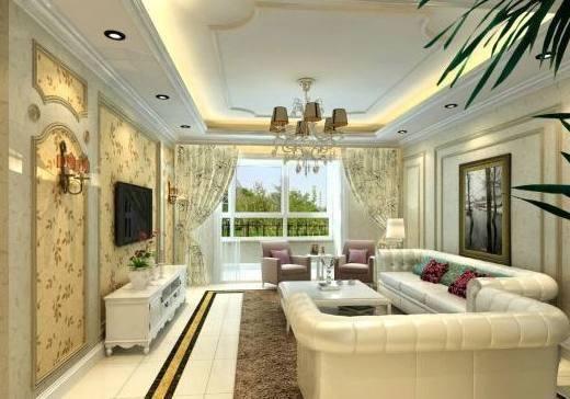 石膏板吊顶卧室造型效果图2019
