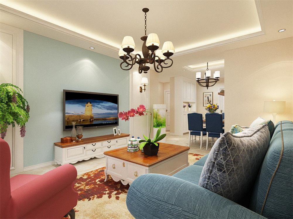 4万块钱装修的105平米的房子,欧美风情风格简直太美了