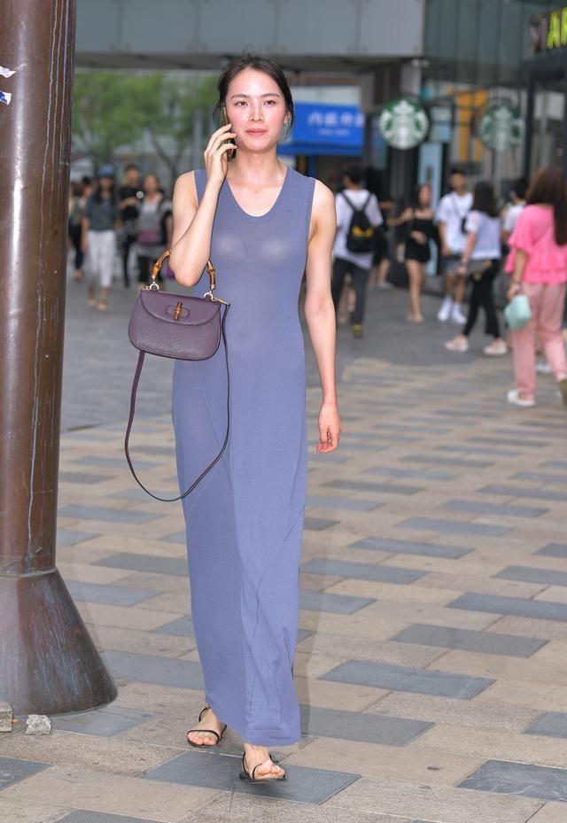好看的薄沙长裙, 整洁又利落, 让人尽显朦胧之美
