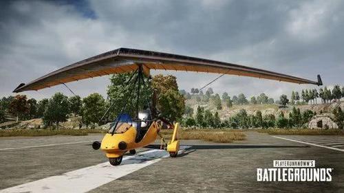 绝地求生滑翔机正式服