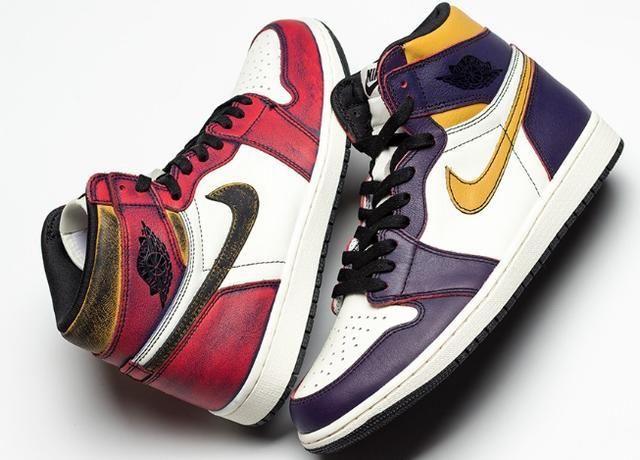 Nike SB x Air Jordan 1 耐克aj1新款图片配色