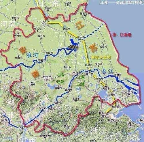 安徽至江苏正在规划的一条高铁,南北路线争议较大