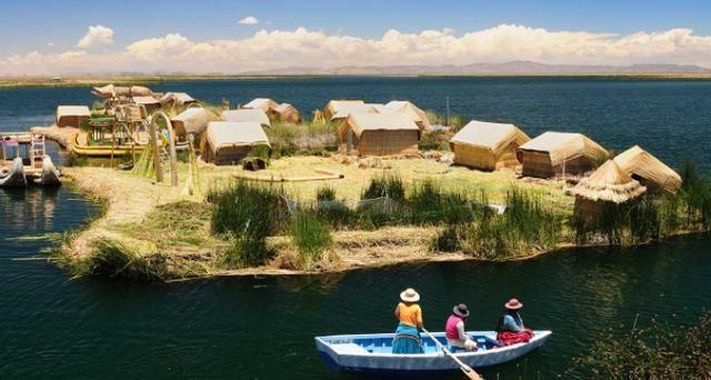 """这个部落漂在海上1000多年,用芦苇造浮岛居住,竟以""""吃"""