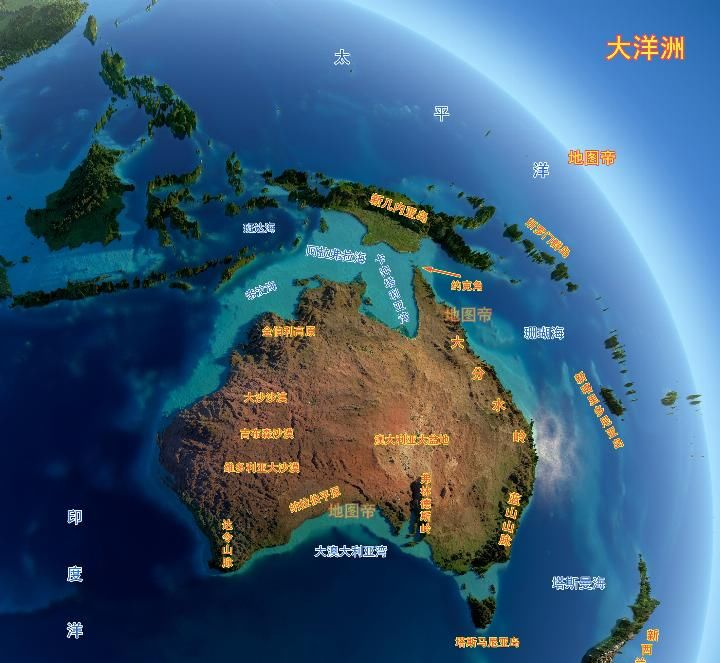 <b>太平洋第一大岛,为何印尼和巴新各占一半?</b>