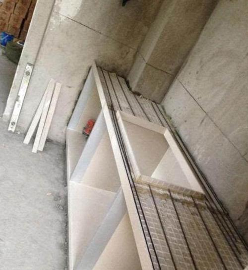 请师傅用瓷砖水泥砌橱柜,比定制的还美,这一项让我家省下1.5万-家居窝