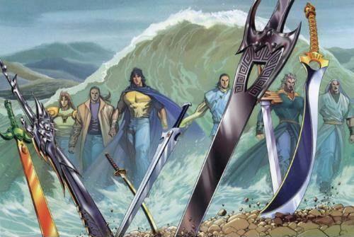 《风云》中五大神兵排行,火麟剑仅排第四,第一比绝世好剑还厉害